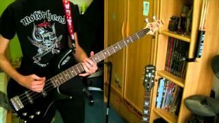 Motörhead - Dust and glass bass cover [HD]