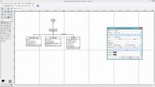 كيفية إنشاء UML الرسم باستخدام ضياء محرر الرسم البياني
