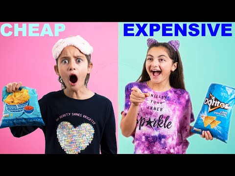 CHEAP VS EXPENSIVE Guessing Challenge!!! w/ GIVEAWAY!!