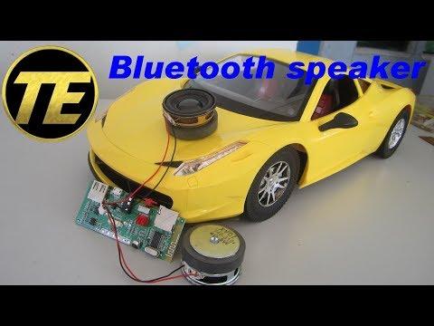 DIY Car Bluetooth Speaker - Ferrari 458