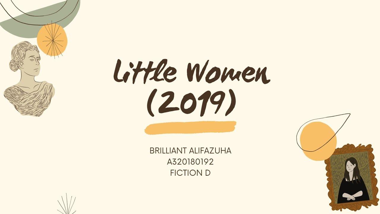 Download LITTLE WOMEN (2019) CRITICAL REVIEW (FICTION D)