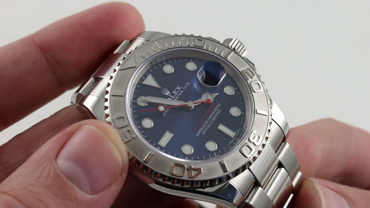 Pre Owned Rolex Yacht Master 116622 Luxury Watch Review