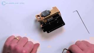 Fiber Cleaver Blade Height Adjustment for SSF Fibers
