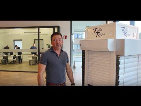 Rollladen mit 39mm Rollstäben | Rollläden | Produktvideos von Rollo Rieper
