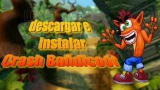 Como descargar Crash Bandicoot para pc | mediafire
