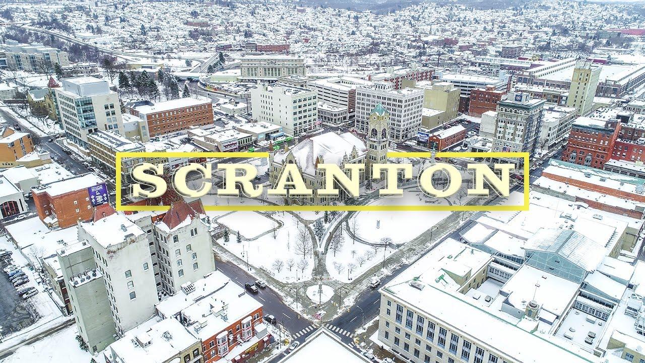 Download Scranton, Pennsylvania Drone Video