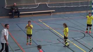 FSV Mainz 05 U9 vs. BVB Borussia Dortmund U9 4:2, NLZ-Leistungsvergleich 08.12.2013 Mönchengladbach