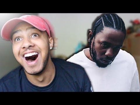 Doing my Kendrick Lamar impression FOR Kendrick Lamar!