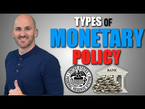 Macro: Unit 4.3 -- Types of Monetary Policy