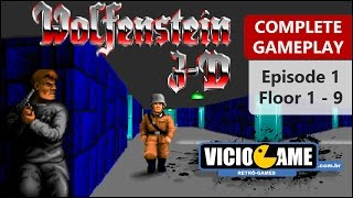 🎮 Wolfenstein 3D (PC) - Complete Gameplay