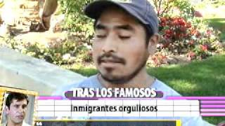 Inmigrantes mexicanos reaccionan a nominacion de Demian Bichir