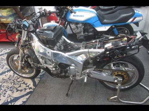 pt 45 FZR RESTORATION,HOW TO REMOVE PAINT FROM METAL TANK