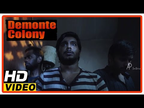 Demonte Colony Tamil Movie | Scenes | Arulnithi And Friends Tries To Escape From The Room