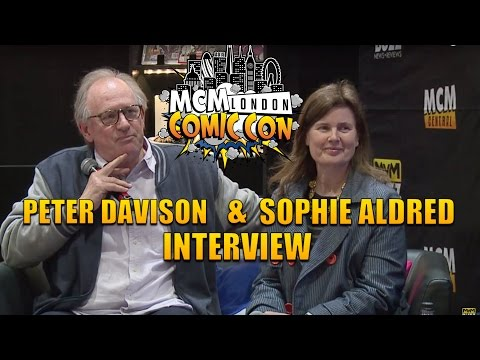 Doctor Who's Peter Davison & Sophie Aldred @ MCM London Comic Con