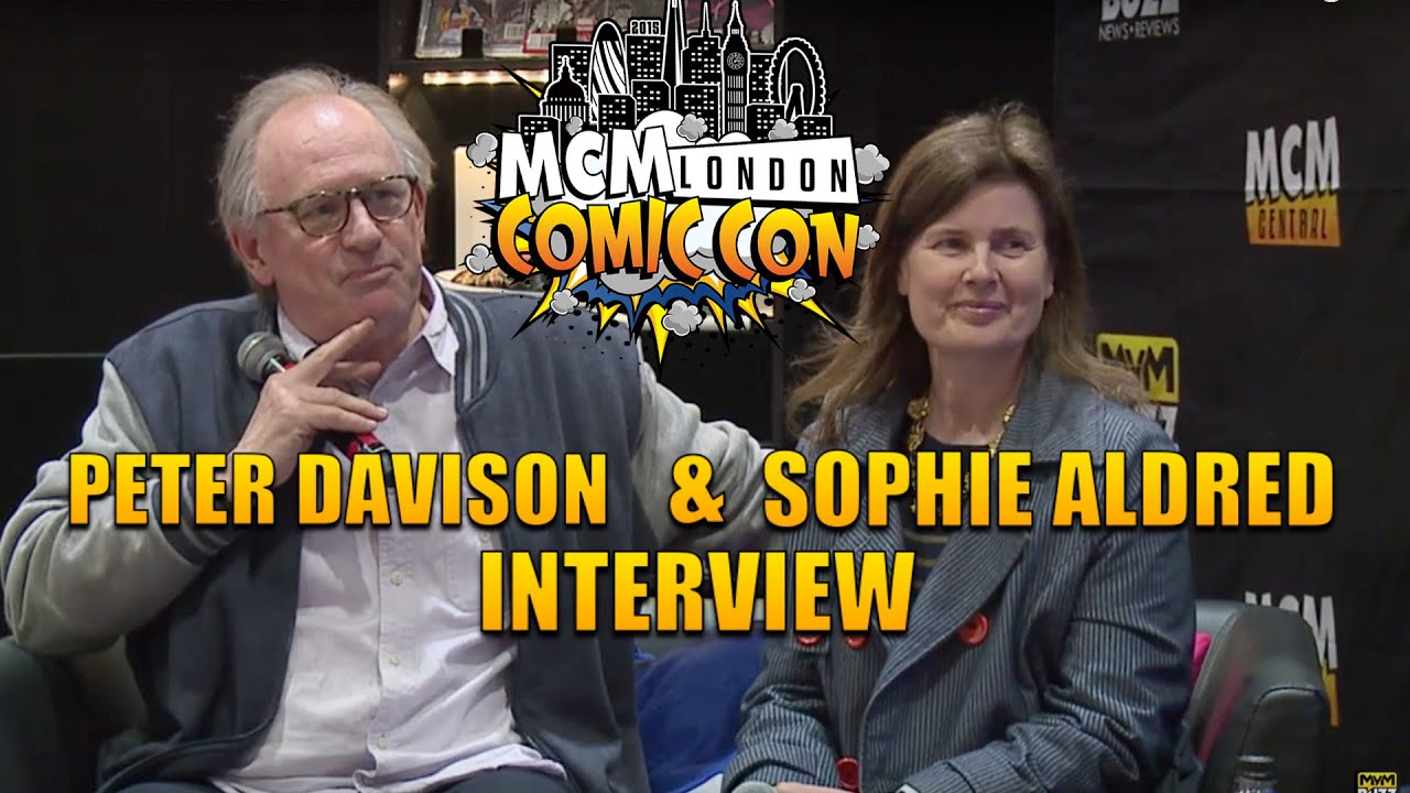 interview doctor who s peter davison sophie aldred mcm london interview doctor who s peter davison sophie aldred mcm london comic con
