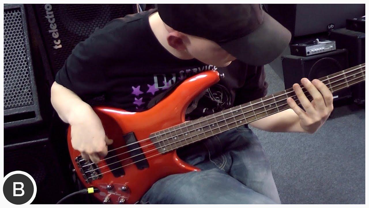 ibanez sr 300 bass soundgear series youtube