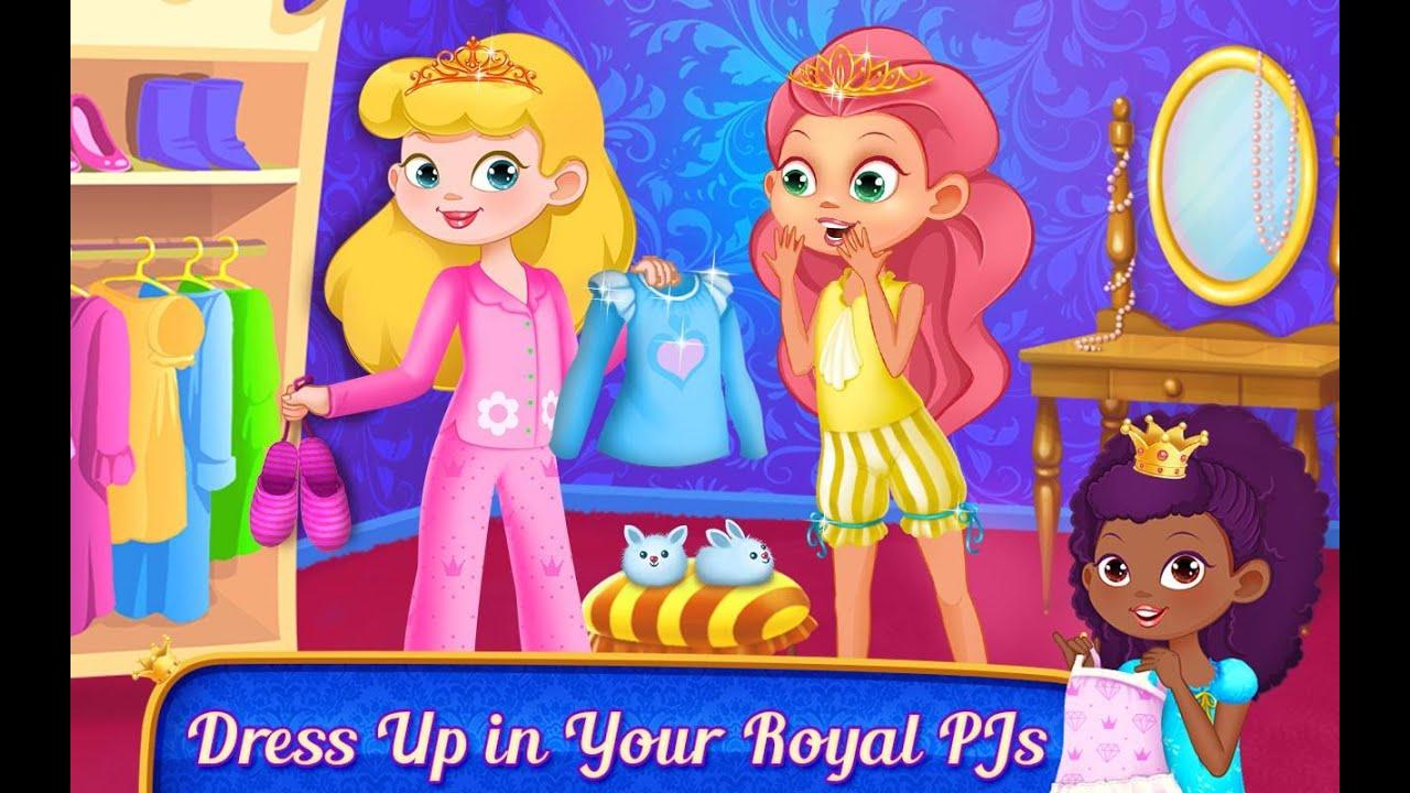 Princess PJ Party - Royal Pillow Fight - best iPad app demos for ...