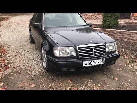 На полной реставрации Mercedes Benz W124 E500 Волк