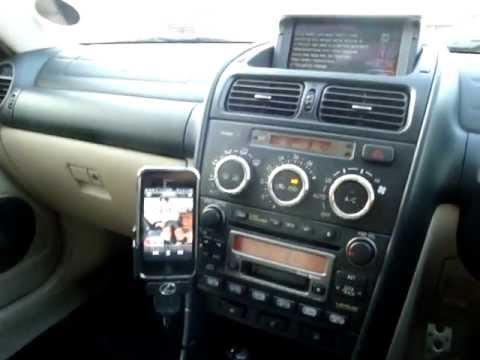 Lexus IS200 with NAVTOOL, reversing camera, Xcarlink & Nokia CK-7W