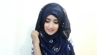 Simple every day hijab tutorial for summer|| Easy Eid hijab tutorial||Eshrat Jahan ❤