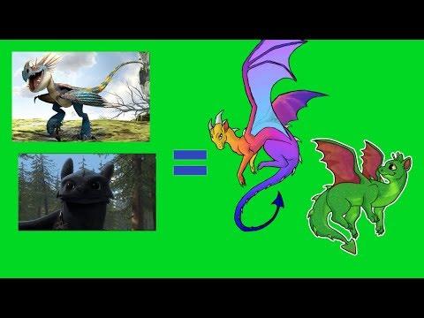 КАКИМИ ОНИ БЫЛИ? Как Приручить Дракона - драконы из книг и мультфильма. Вся Правда
