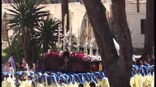 Semana Santa Málaga. Viernes Dolores 2015. Procesión colegio Gamarra (2)