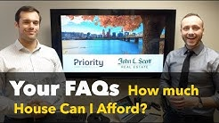 Your FAQs - How much house can I afford? What is PITI?