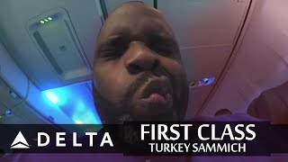 Delta First Class Turkey Sammich