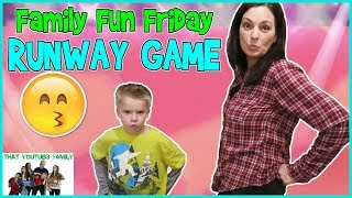 FAMILY FUN FRIDAY  - 1 2 SWITCH RUNWAY / That YouTub3 Family