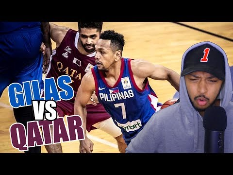 THEY GOT DESTROYED!! GILAS VS QATAR 2019 HIGHLIGHT REACTION