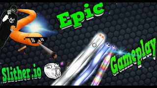 Slither io #1 EL COMIENZO DEL GRAN TROLL + TURN DOWN FOR WHAT