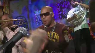 """Rebirth Brass Band performs """"A.P.  Touro"""" on News With a Twist"""