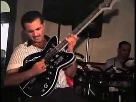 Shemkirde gitara ifacisi Mehmanin oglu Emilin toyu-Elman solo