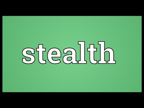 Stealth Meaning