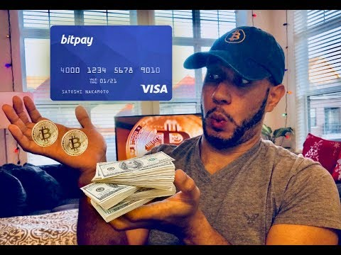 BITPAY DEBIT CARD | HOW TO CONVERT BITCOIN INTO CASH 💵💳
