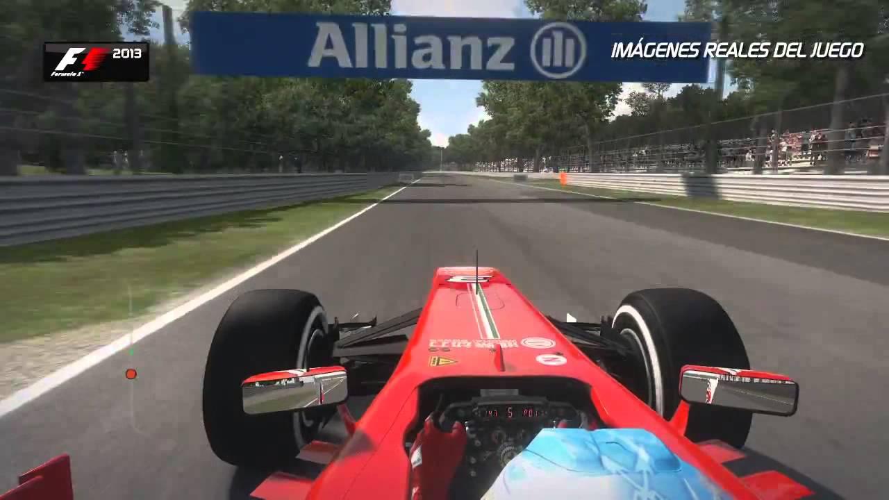 Vuelta a Monza con Fernando Alonso y el F1 2013   Car and ...