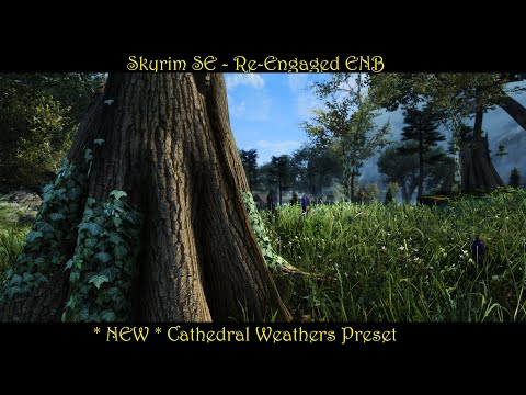 SkyrimSE | Re-Engaged ENB | *NEW Cathedral Preset | Beautifully Colored