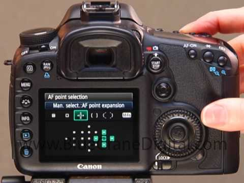 pinpointing focus with the canon 7d youtube rh youtube com Canon 7D Camera Nikon D300 Focus Points