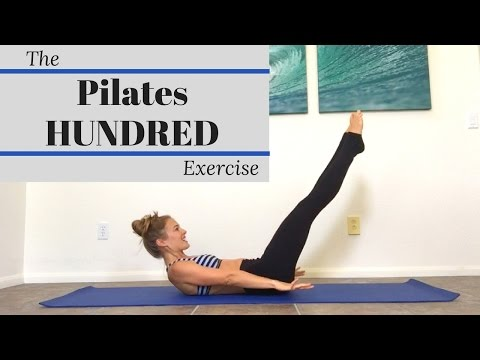 The Pilates Hundred Exercise The Pilates Hundreds Exercise