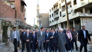 بشار الأسد يتقمص شخصية