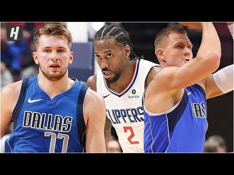 Dallas Mavericks vs Los Angeles Clippers - Full Game Highlights | October 17, 2019 NBA Preseason
