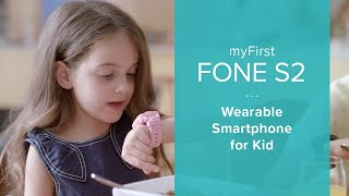 myFirst Fone - Wearable Smartphone for Kids. With 3G Voice  & Video Call, GPS and Care Call function