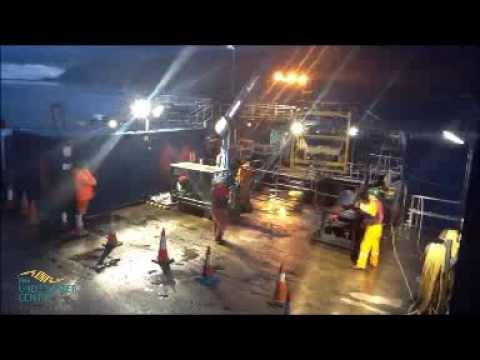 ROV Launch and Recovery Operations at The Underwater Centre Fort William   Video 2