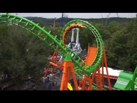 Six Flags St Louis Boomerang Media Day