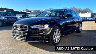 Свежая AUDI A6 3.0TDI QUATTRO в идеальном состоянии /// Авто из Германии
