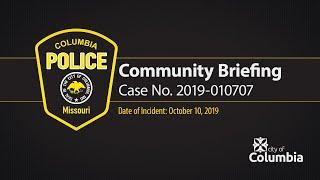 CPD Preliminary Community Briefing re Case No. 2019-010707