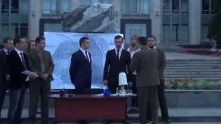 Simularea semnării Pactului Molotov-Ribbentrop de către Tinerii Liberali #PMAN