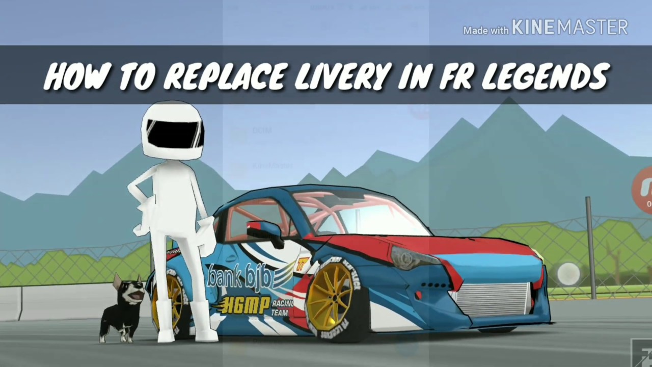 HOW TO REPLACE LIVERY IN FR LEGENDS (SUBARU BR2Z AKBAR RAIS)