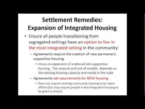 Housing for People with Disabilities: A Civil Rights Lens