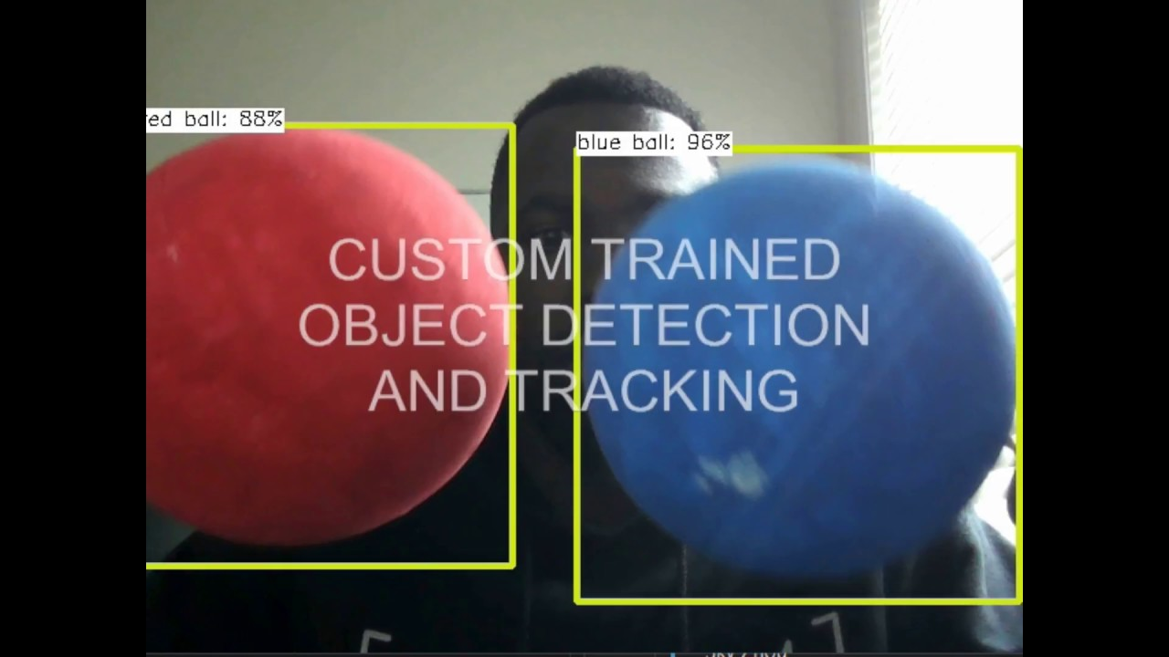 Real-Time Custom-Trained Object Detection App with OpenCV and TensorFlow